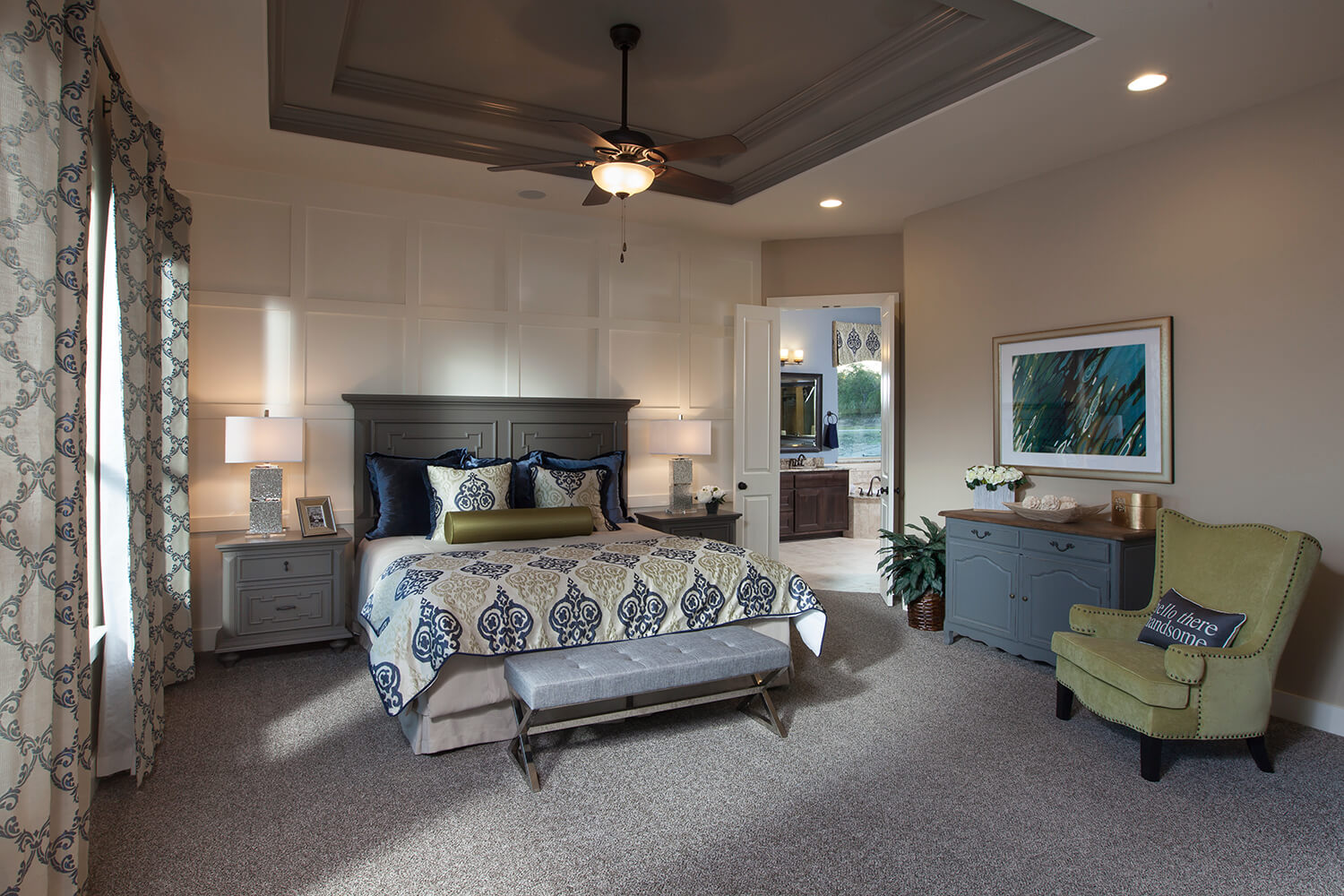 Master Bedroom - Design 3454