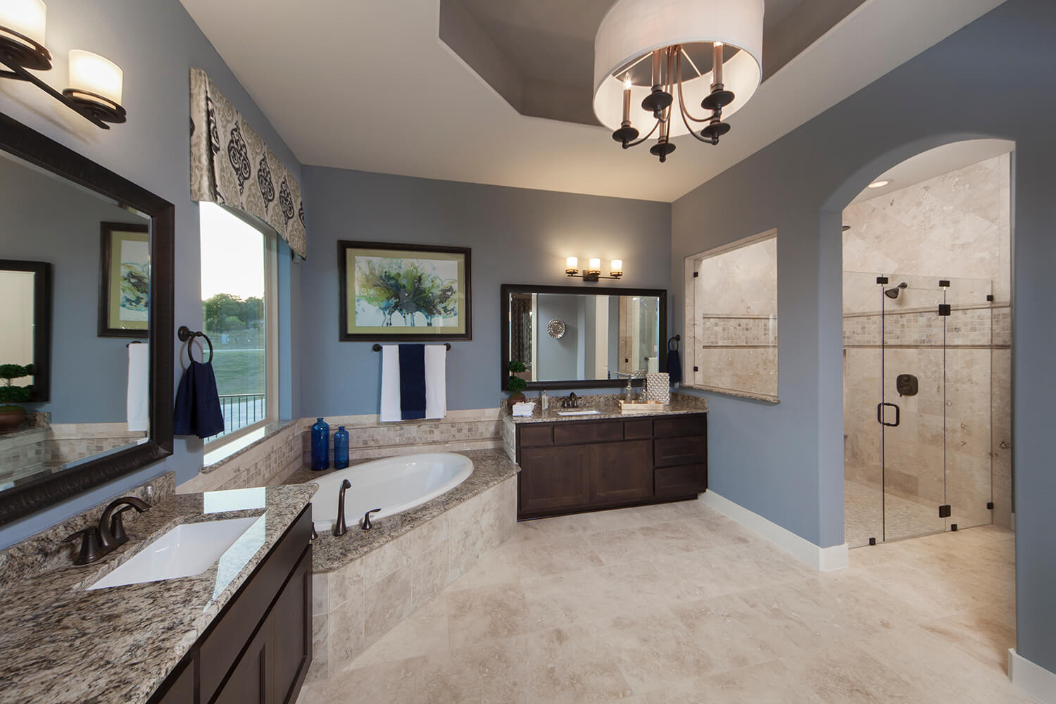 Master Bathroom - Design 3454