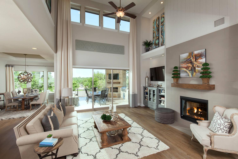 Family Room - Design 3563