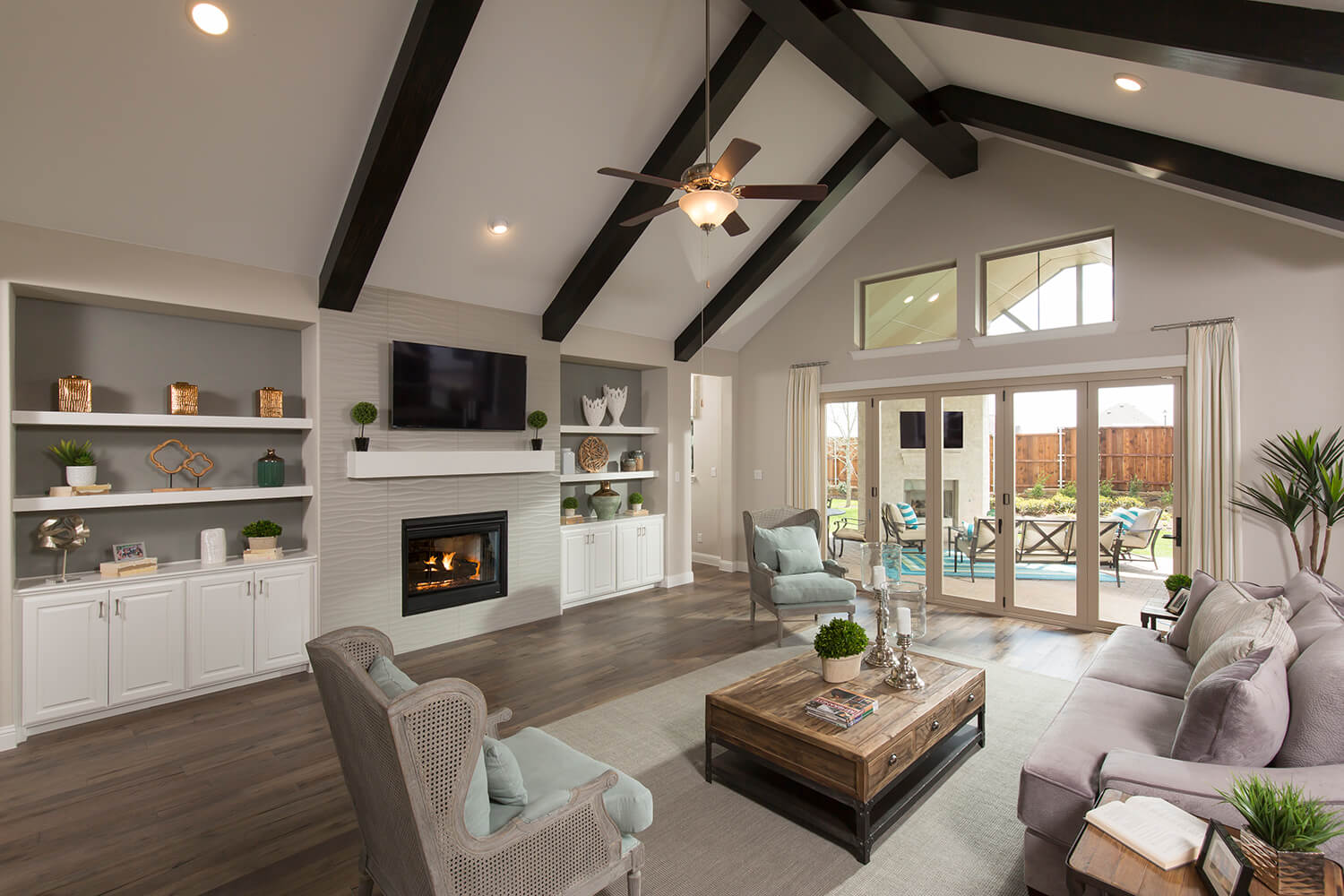 Family Room - Design 3601