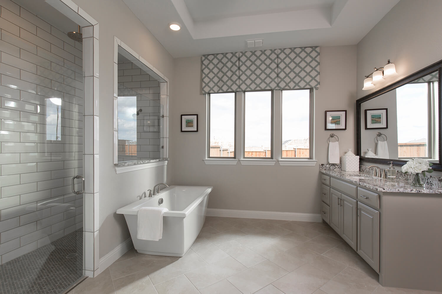 Master Bathroom - Design 3601