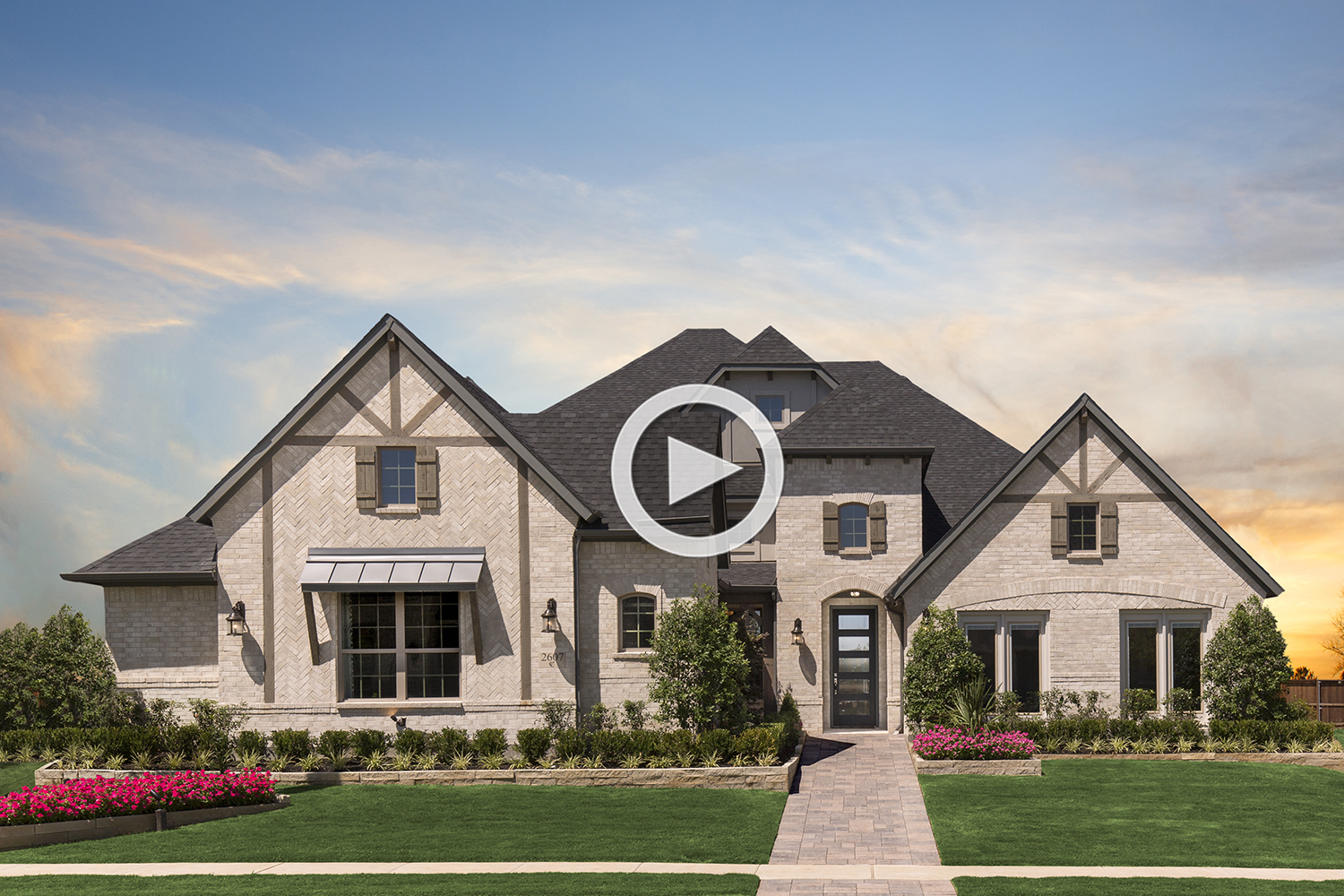 Coventry Homes in Mustang Lakes
