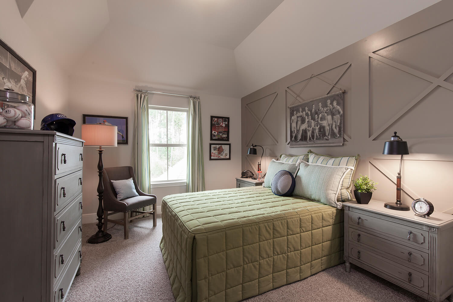 Secondary Bedroom - Design 6473