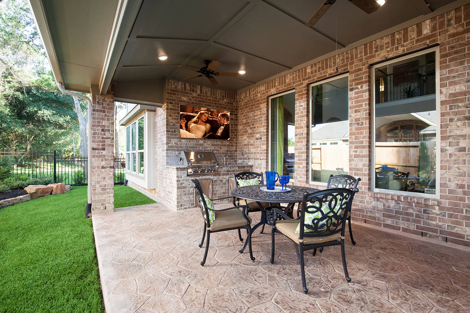 Covered Patio - Design 6473