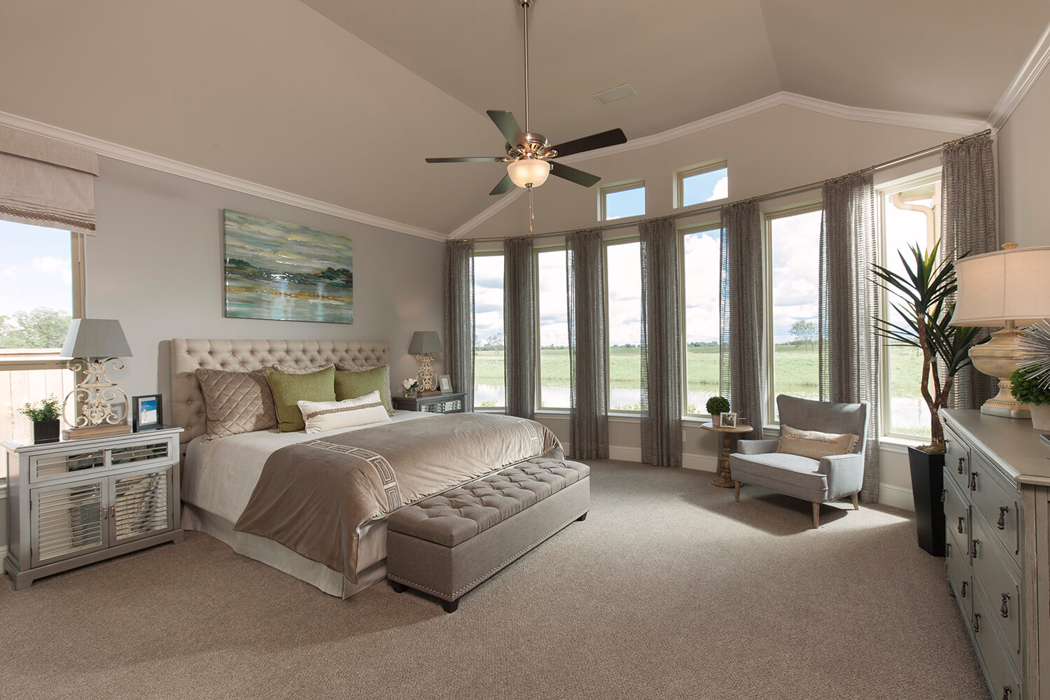 Master Bedroom - Design 6876