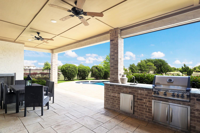 Outdoor Kitchen - Design 7297