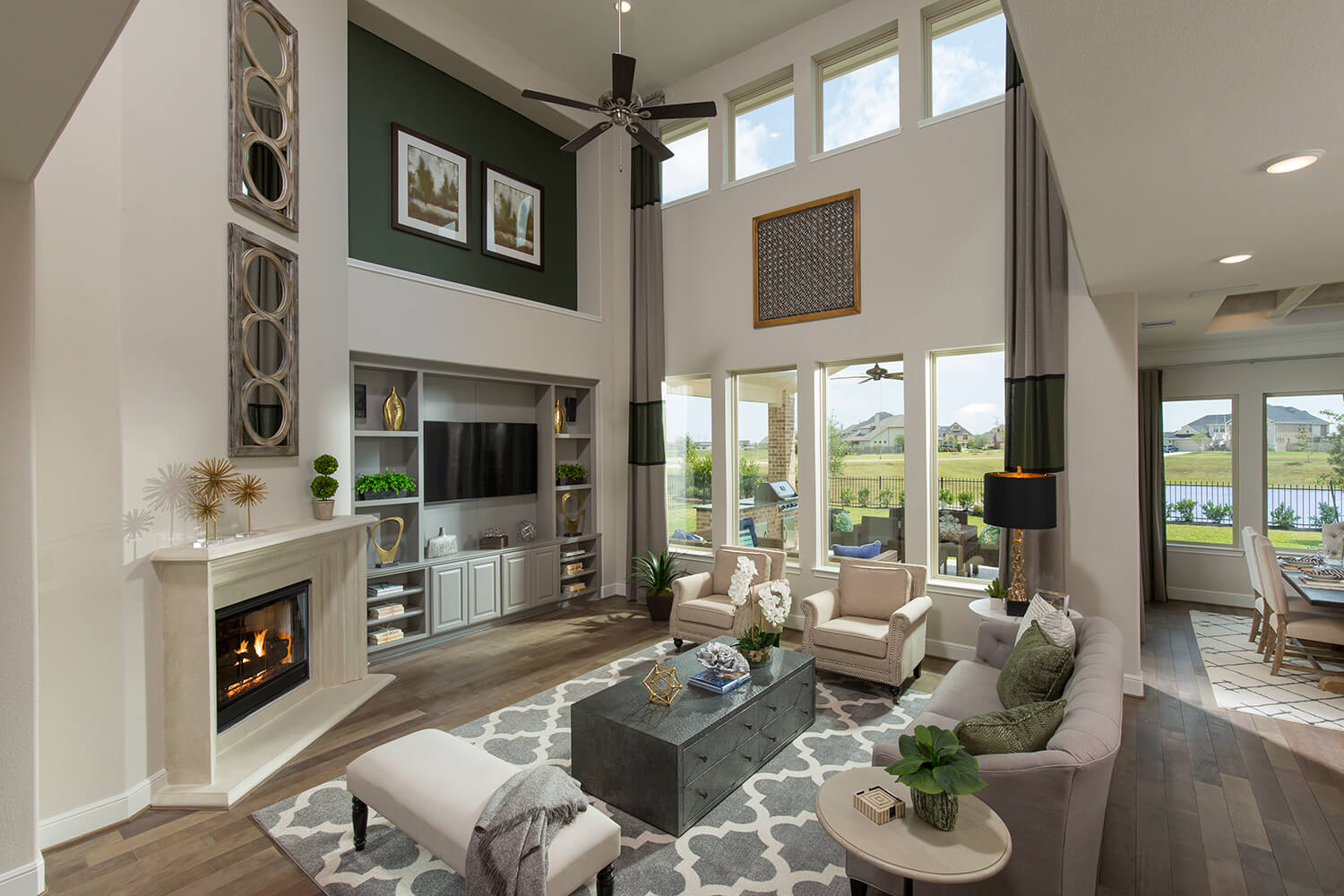 Family Room - Design 7312