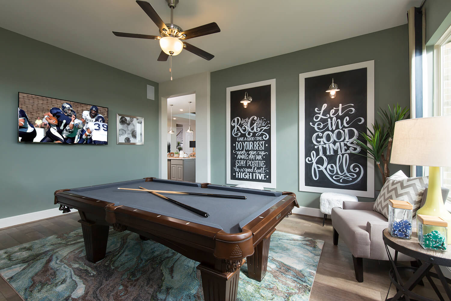 Game Room - Design 7312