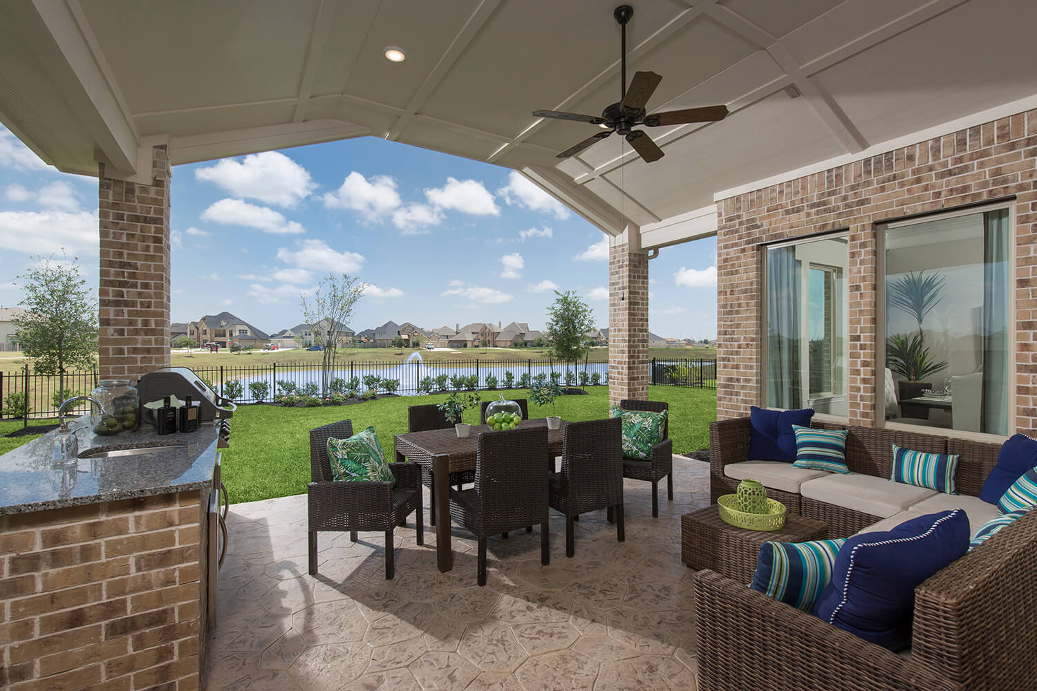 Covered Patio - Design 7312
