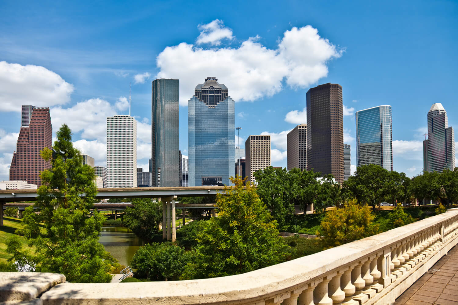 Enclave at Westview - Houston Skyline