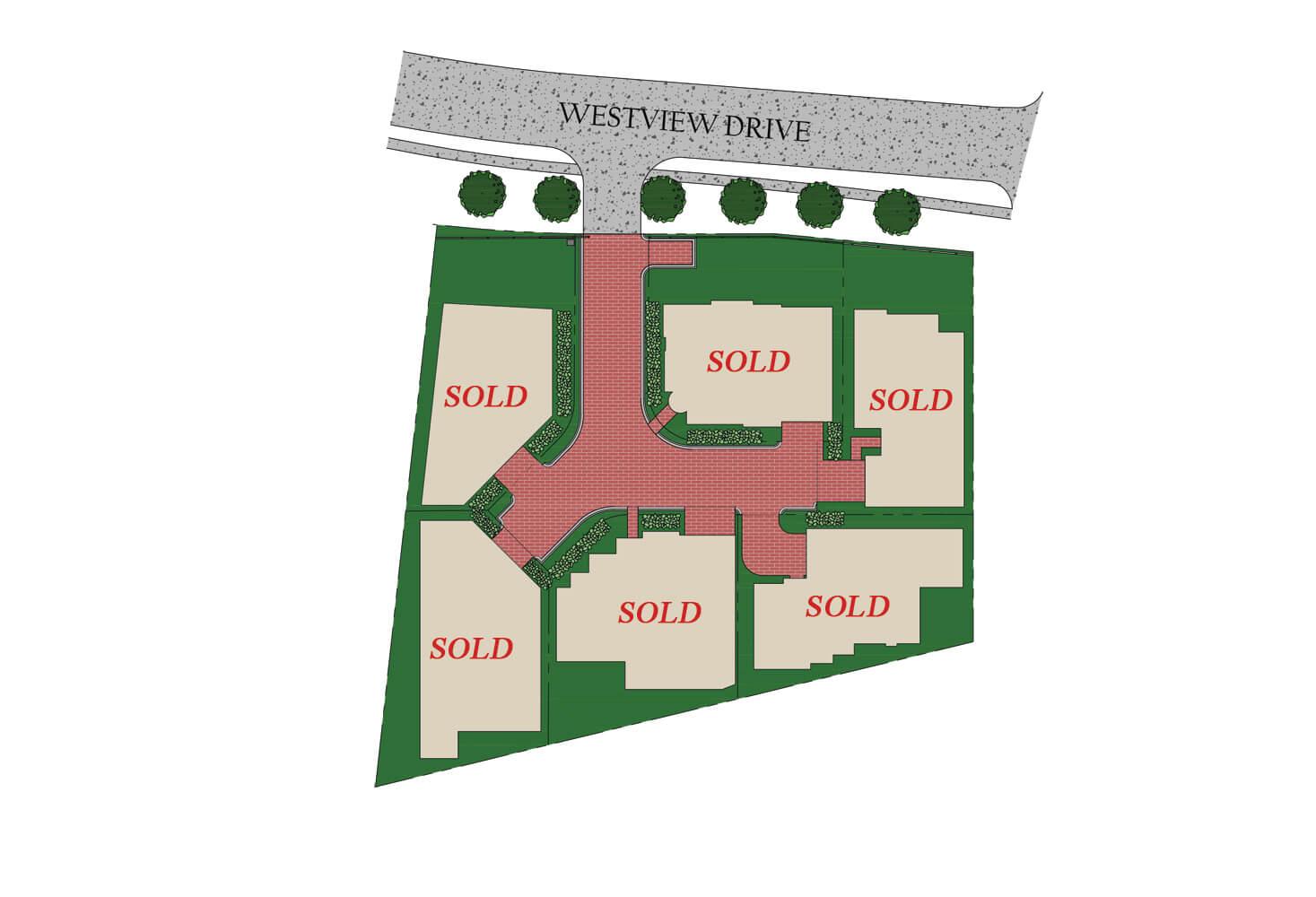 Enclave at Westview - 6 Estate Homes