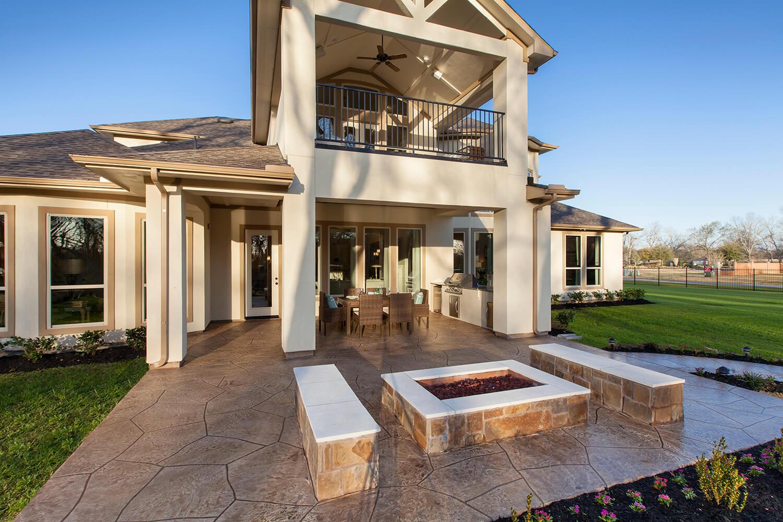 Outdoor Living Area - Design 8264