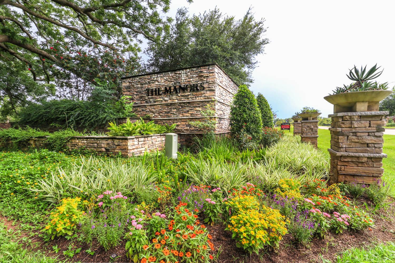 Manors at Silver Ridge Community Entrance