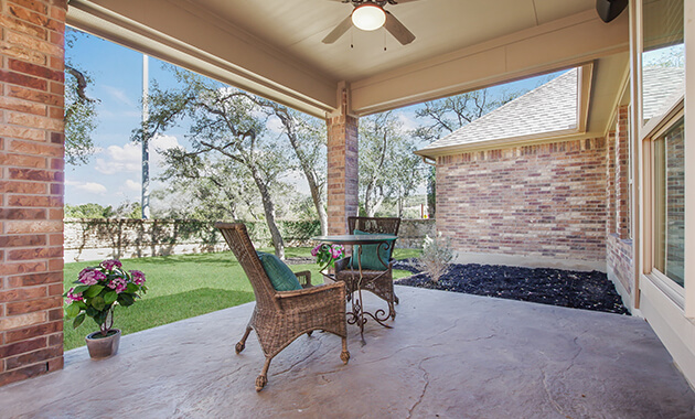 Covered Patio - Design 2356