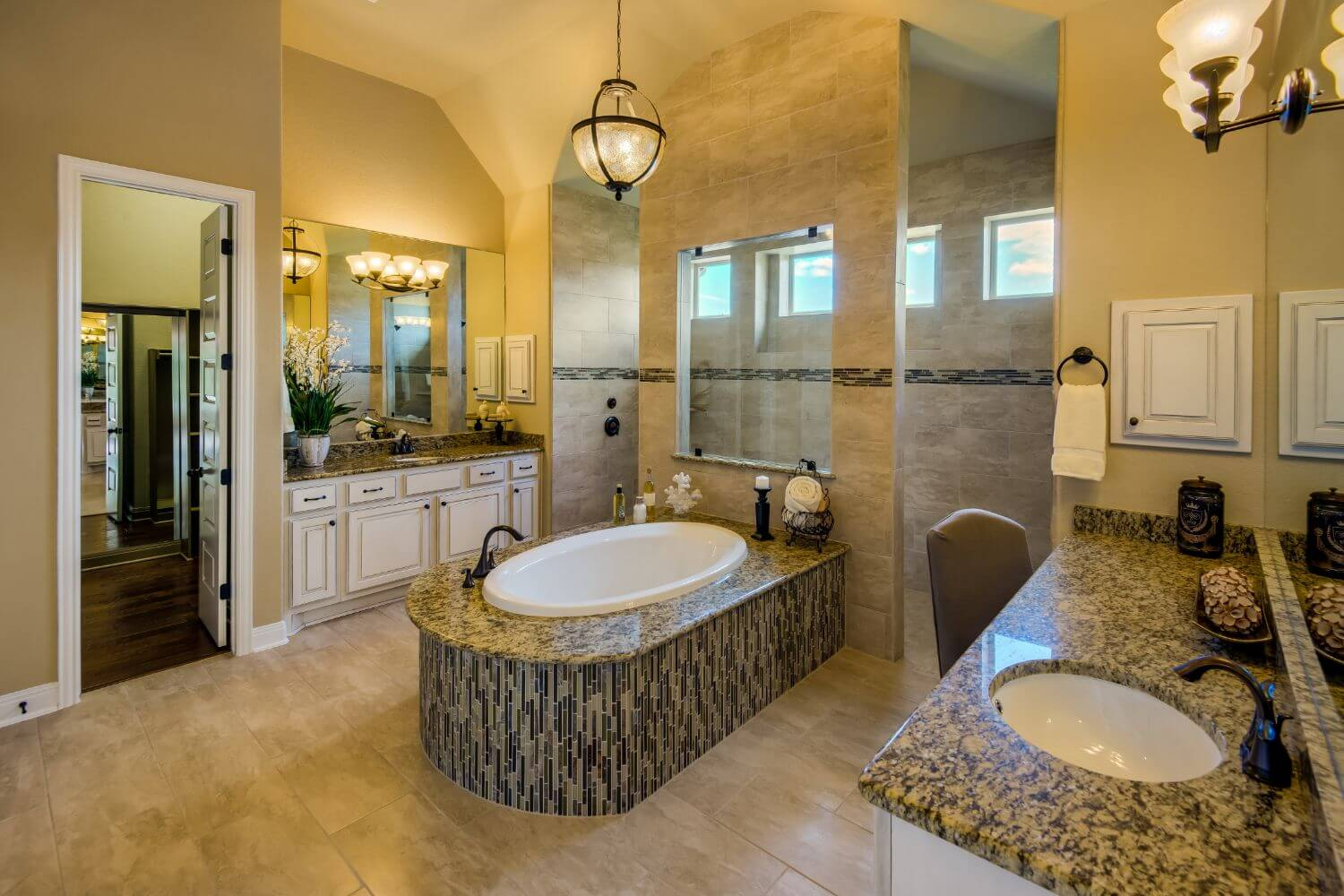 Master Bathroom - Design 3256