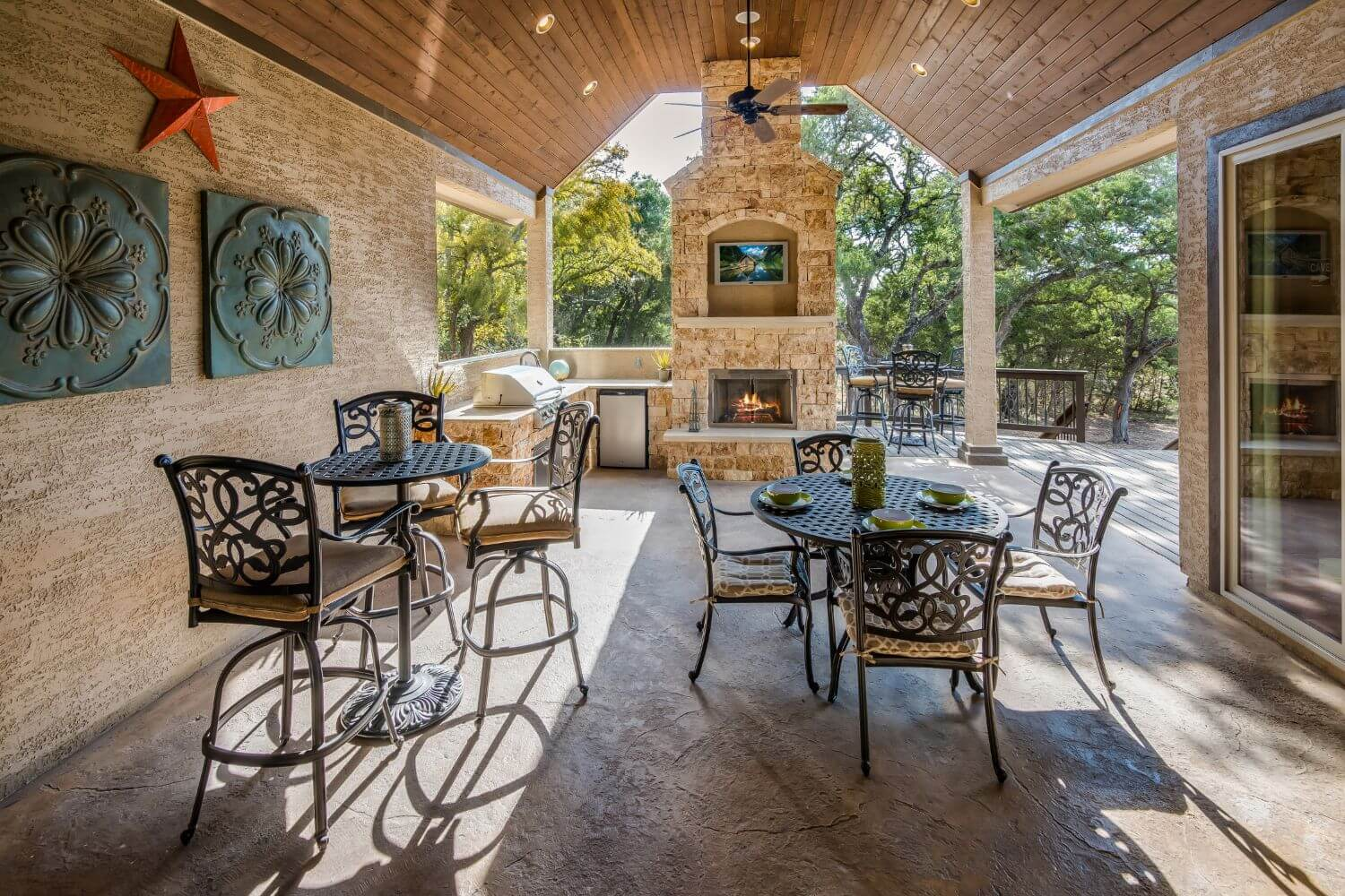 Covered Patio - Design 3256