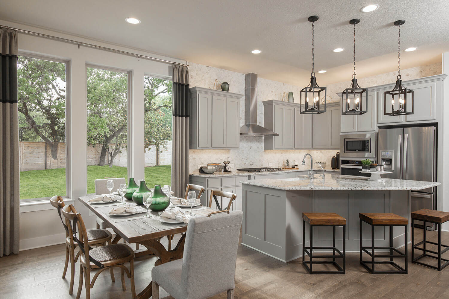 Dining Room and Kitchen - Design 2300