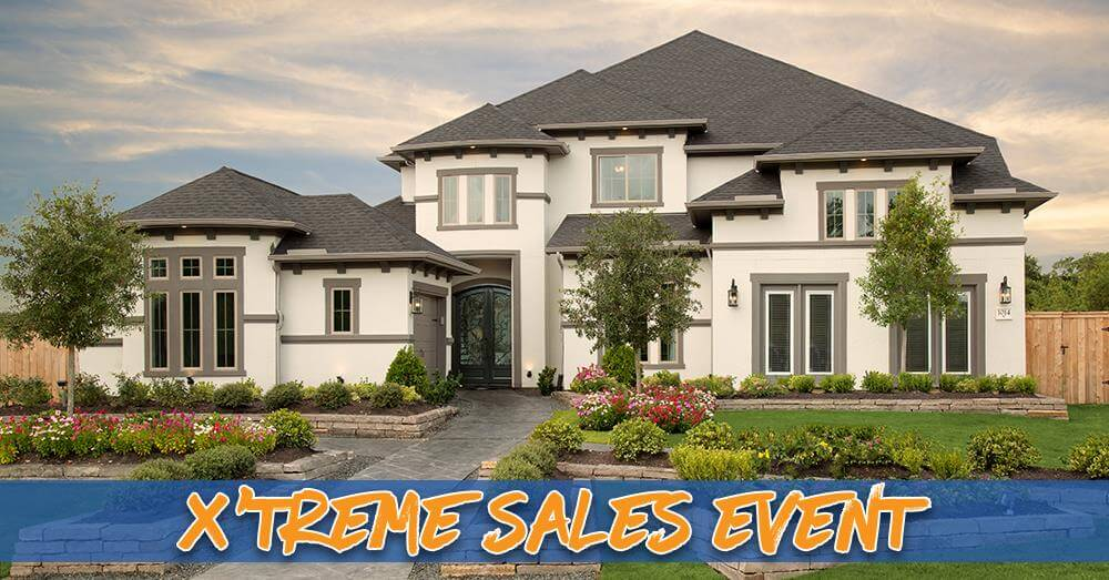 Coventry Homes, Plantation Homes Offer X'treme Savings of up to $154,394 in Houston